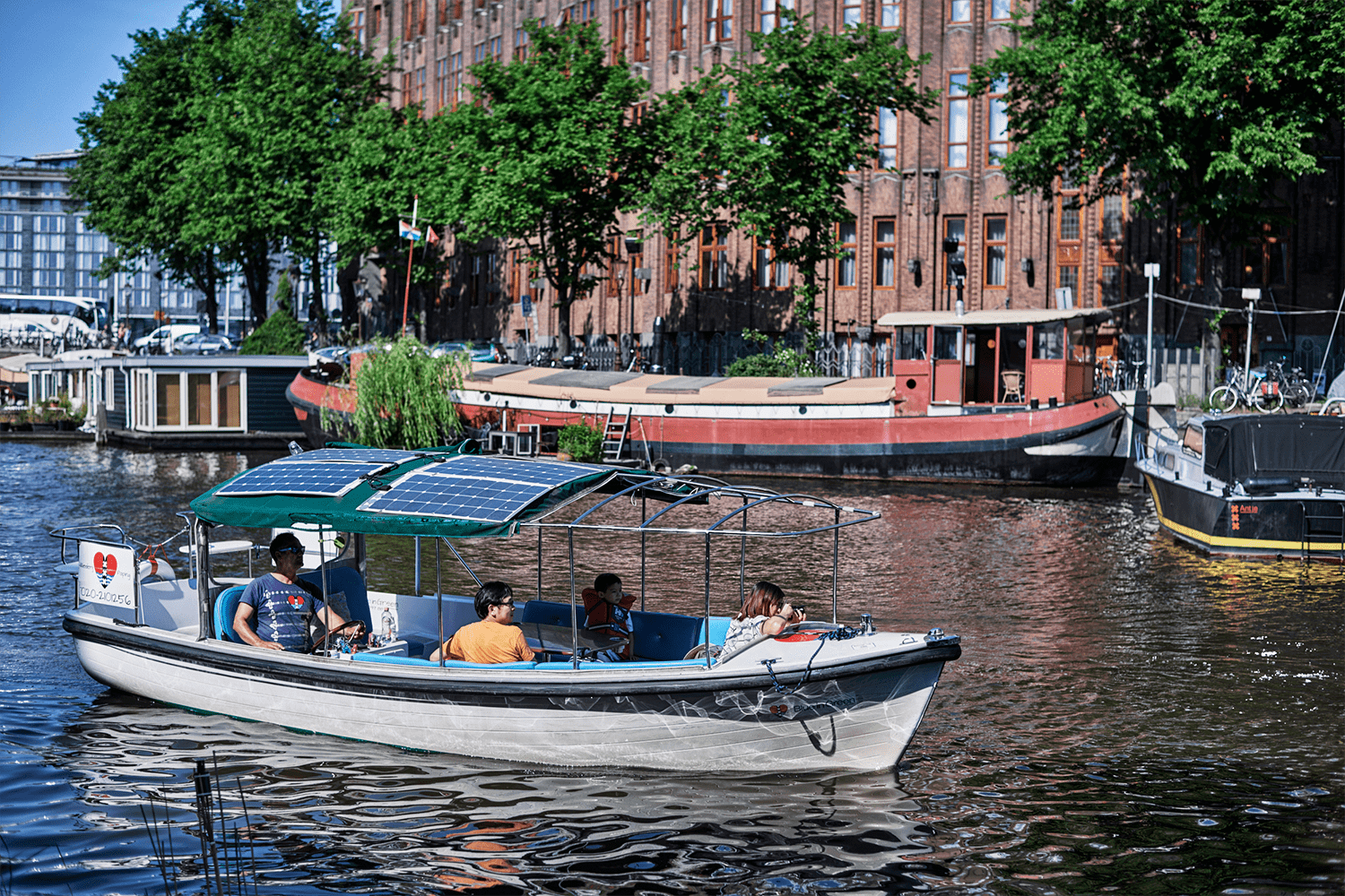 Private Boat Cruise Amsterdam Canal Tour